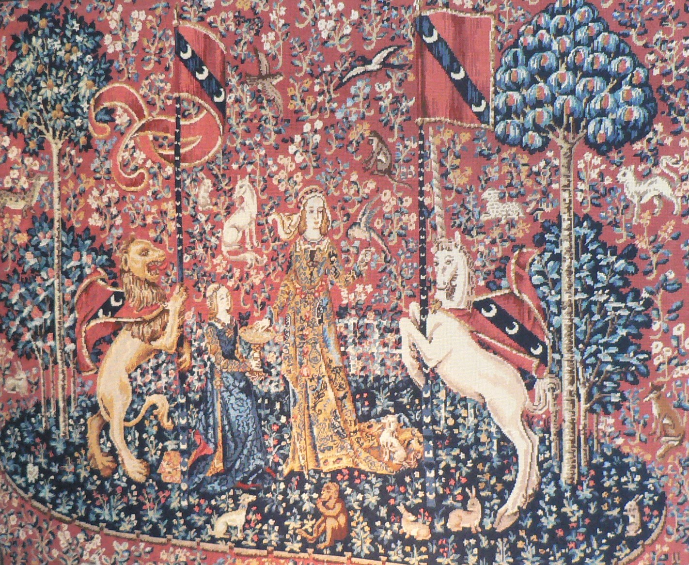 Reproduction de la Dame à la Licorne