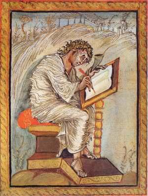 Scribe enlumineur